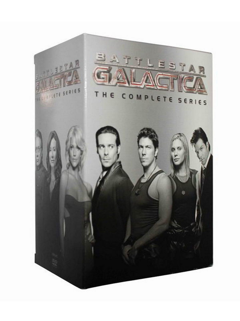 Battlestar galactica the complete series 1 4 dvd