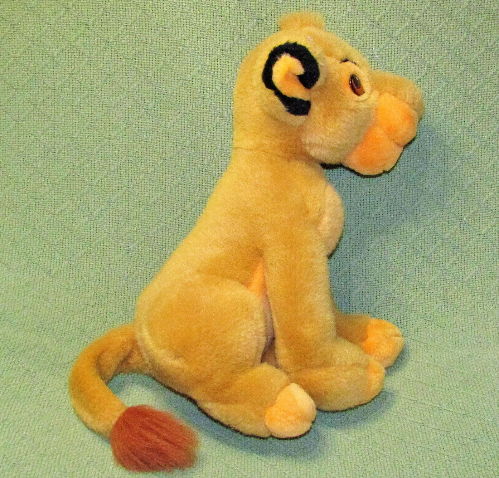 """14"""" SIMBA Young Lion King Plush Stuffed Disney Store CUB Plush Stuffed Animal  image 5"""