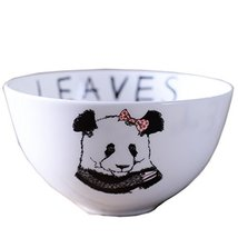 Baby Panda Design Multifunctional Creative Ceramic Bowl Cute Bowl