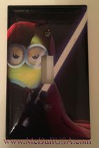 Minions Star Wars Light Switch Power Duplex Outlet Wall Cover Plate Home decor image 1