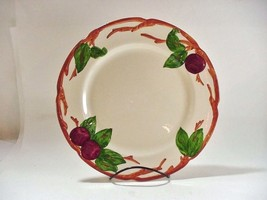 "Franciscan Pottery, USA: ""APPLE"" Pattern, 4  DINNER PLATES: 10-5/8""  - $42.52"