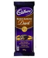 Dairy Milk Burnt Almond Dark Chocolate Bar Full Size 100g CADBURY Canada... - $3.95