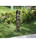 Stacking Cats-Hear/See/Speak No Evil-Garden Statue, Garden Decor, Home D... - $62.99
