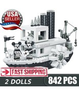 Mickey Minnie Building Blocks Steamboat Willie Ship Set LEGO® 21317 Steamboat - $39.59