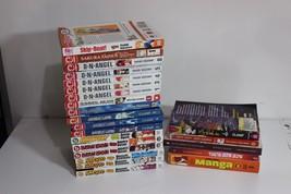 Lot of pb books Naruto Rurounikenshin Angelic Layer DN Angel Magna - $39.95