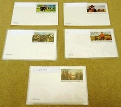 USPS Scott UX98 UX109 UX112 UX114 UX114 13c & 14c Postal Card Lot of 15 - $11.50