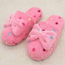 Women Home Slippers Winter Warm Cotton Fabric Indoor Footwear Home Floor... - $11.99