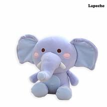 lapeche Stuffed Elephant Plush Animal Toy,25cm Blue - $12.12