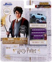 Jada Toys Nano Hollywood Rides NV6 Harry Potter 2pk - $10.99