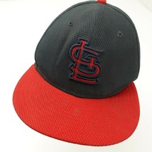 St Louis Cardinals New Era Fitted 7 Adult Baseball Ball Cap Hat - $11.05