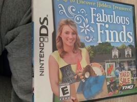 Nintendo DS Fabulous Finds image 1