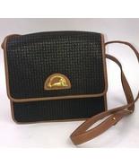 Ted Lapidus Paris Purse No 70123 Brown Shoulder Bag jaguar - $49.49