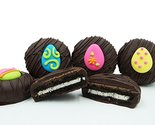 Philadelphia Candies Dark Chocolate Covered OREO Cookies, Easter Egg Assortment