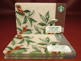 Lot of 11 Starbucks 2016 Coffea Braille Gift Cards New with Tags - $14.64