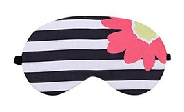 2 Pcs Breathable Eye Masks For Sleep Light Shading Eye Ease, Black White Stripes - $16.89