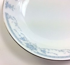 Blue Whisper SHEFFIELD CHINA Floral Fruit Dessert Bowl Dish 5.5 inches d... - $7.55