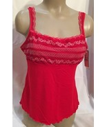 Felina Red Panache camisole top 83828 NEW M  - $16.95