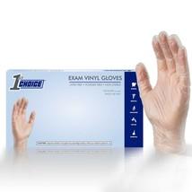 100 Vinyl Disposable Gloves Powder Free (Non Latex Non Nitrile) Ivory - ... - $13.95