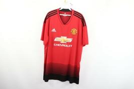 Adidas Mens 2XL XXL ClimaLite Manchester United Chevrolet Football Socce... - $39.55
