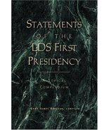 Statements of the LDS First Presidency: A Topical Compendium Gary James ... - $16.59