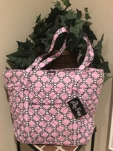 NEW Lilly Reese Quilted Pink Tote Bag        - £31.23 GBP