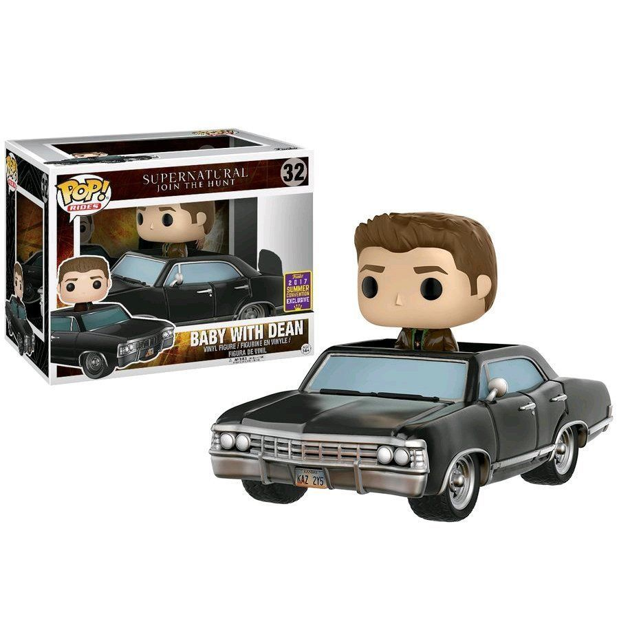 SDCC 2017 Exclusive Supernatural Funko POP! Rides Vinyl - Dean and Baby - $909.90