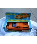 VTG Radio Shack Computer Car Mercedes C111 Orange Original Box Battery O... - $42.75