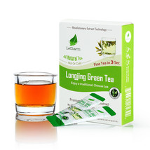 Premium 100% Natural Longjing Organic Green Tea Sugar Free (10 Sachests) - $10.84