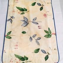 Croscill Gazebo Botanica Yellow Floral Herbs King Pillow Sham - $18.99