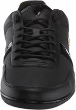 Lacoste Men's Leather Athletic Sport Giron 120 CMA Sneakers Shoes Black Gold image 3