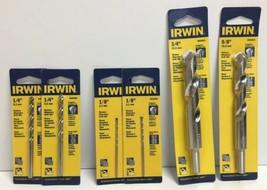 """(New) Irwin 1/8"""", 1/4"""", 3/4"""", 5/8"""" Rotary Masonry Drill Bit Set - $30.68"""