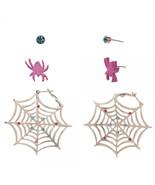 Marvel spider gwen 3 pack earring set thumbtall