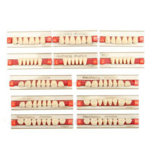 3 Set 84*1 A2 Color Denture Dental Acrylic Resin Teeth Upper + Lower Shade - $19.98