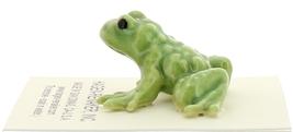Hagen-Renaker Miniature Ceramic Frog Figurine Tiny Papa Frog image 3