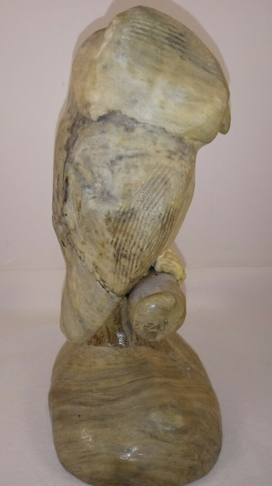 Owl on Tree Branch Figurine 8 1/2""