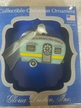 camper Christmas Ornament Home is where the road is upc 089102314345 - $39.48