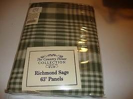 RICHMOND new Window Curtain in Sage Green - $32.00