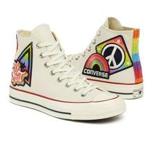 Converse Chuck Taylor All Star 70 High Top LGBTQ Gay Pride 158420C Mens Shoes - $79.95
