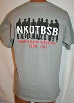 NEW KIDS ON THE BLOCK & BACKSTREET BOYS 2011 Concert Tour CREW ONLY T-SH... - $34.64