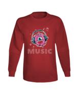 Cool Monster Music Design Long Sleeve T Shirt - $21.99+