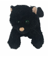 Ganz Webkinz Black Cat HM135 Kitten Stuffy Plush Stuffed Animal Toy - No Code - $12.61