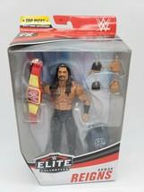 WWE Mattel Roman Reigns Elite Series Top Picks 2021 Figure NEW SEALED - $25.99