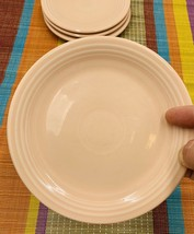 Homer Laughlin FIESTA Salad Plates Set of 4•APRICOT Contemporary - $39.59