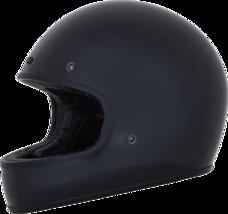 AFX Adult Street Bike FX-78 Vintage Solid Helmet Black Md - $140.21