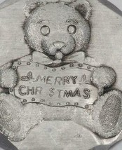 Christmas Ornament Wendell August Forge Teddy Bear - $14.84