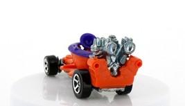 Vintage Loose Hot Wheels Mainline Orange Hot Seat Toilet Go Cart image 2