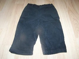 Toddler Size 2T Gymboree Solid Black Corduroy Dress Pants Slacks EUC - $14.00