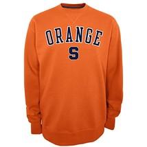 NCAA Syracuse Orange Men's Safety 2 Crew Neck Fleece Pullover, Large - $33.95