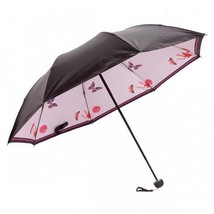 E-SMART Ultraviolet-proof Folding Pocket Sun Umbrella - Light Pink - $26.03