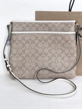 NWT Coach F58297 Signature File Cross-body Shoulder Bag Light Khaki Chal... - ₨6,109.80 INR